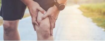 Розтягнення зв'язок коліна