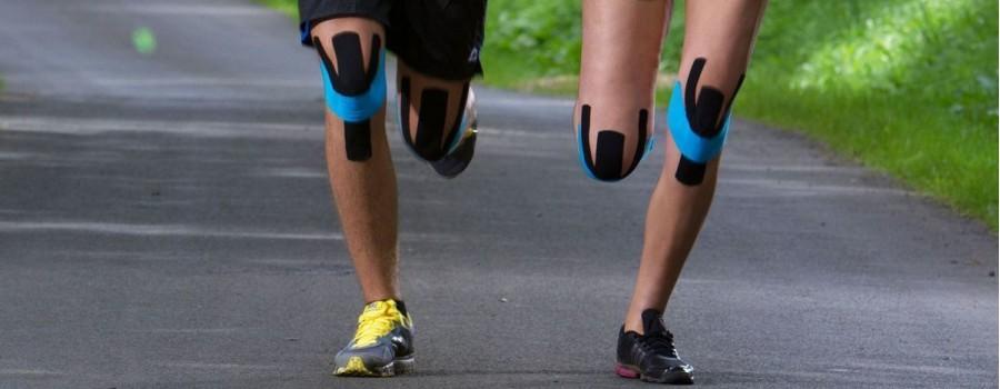 Тейпирование колена при артрозе