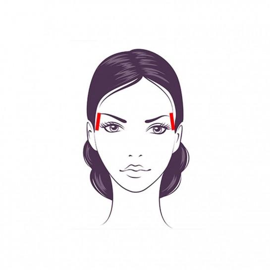 Кінезіо тейп для обличчя Ares Beauty 5см х 5м