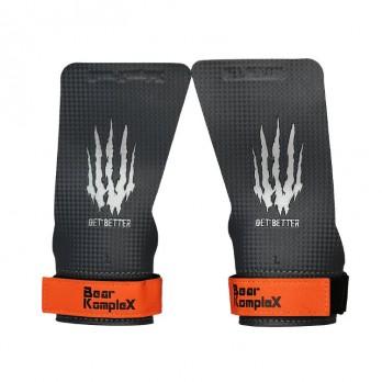 Накладки гимнастические Bear KompleX Carbon Grips без отверстий