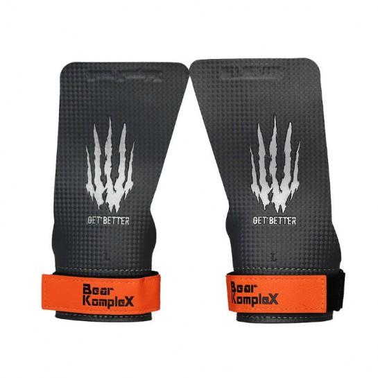 Накладки гімнастичні Bear KompleX Carbon Grips без отворів