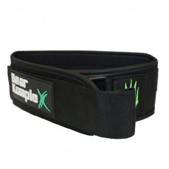 Пояс атлетичний Bear KompleX Black Belt