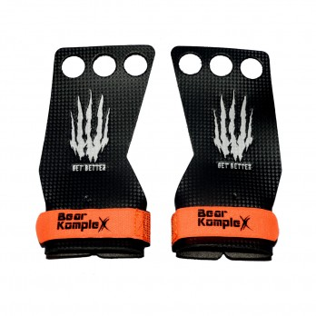Накладки гимнастические Bear KompleX Carbon Grips на 3 пальца