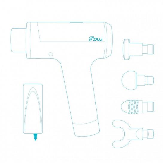 Массажный пистолет Flow Mini