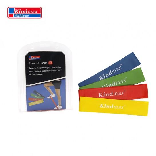 Фитнес резинки Kindmax эспандер лента 4 в 1