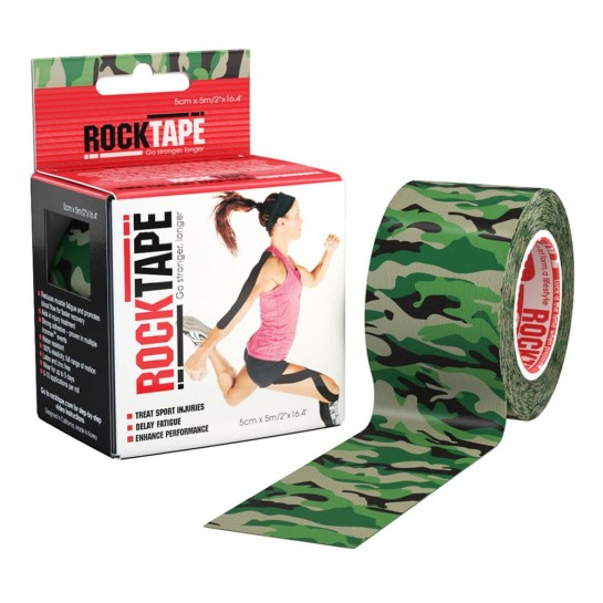 Кінезіо тейп RockTape Design 5см х 5м принти
