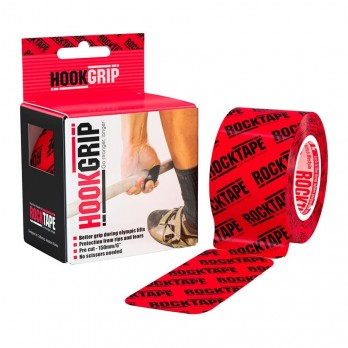 Тейп для пальцев RockTape HookGrip Pre-Cut пластырь от мозолей